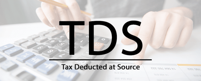 What is TDS(tax deducted at Source)