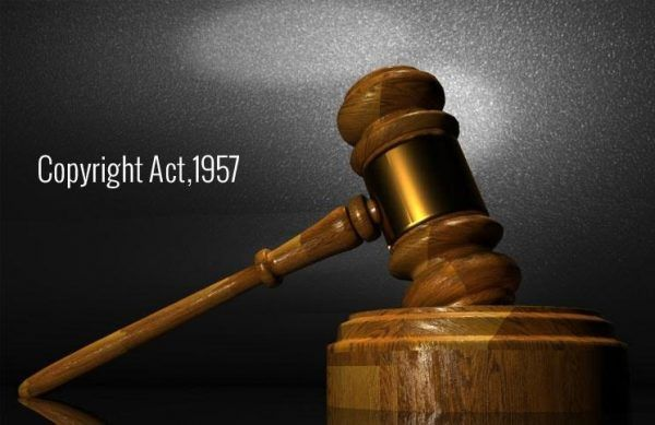 The Copyright Act 1957