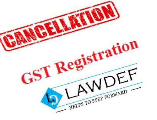 Cancellation of GST- What, Why and How?